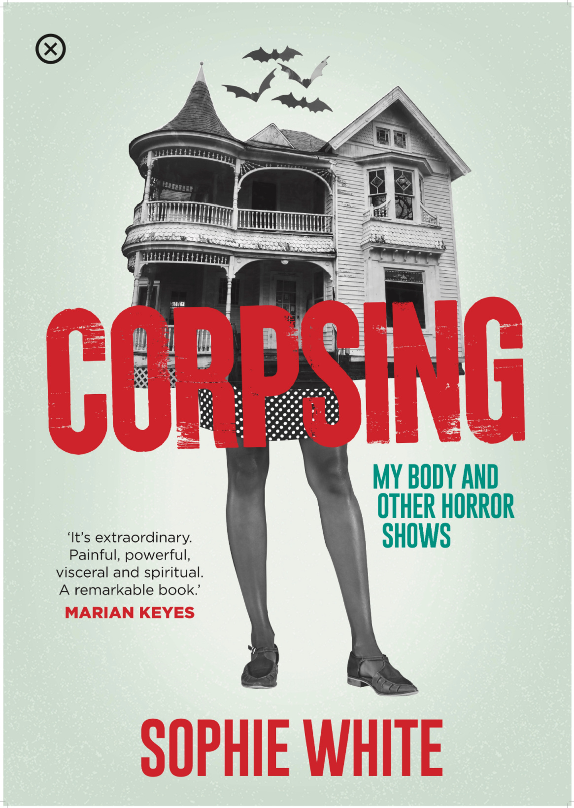 corpsing by Sophie white book cover